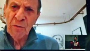 SV talks to NIMOY Skype London